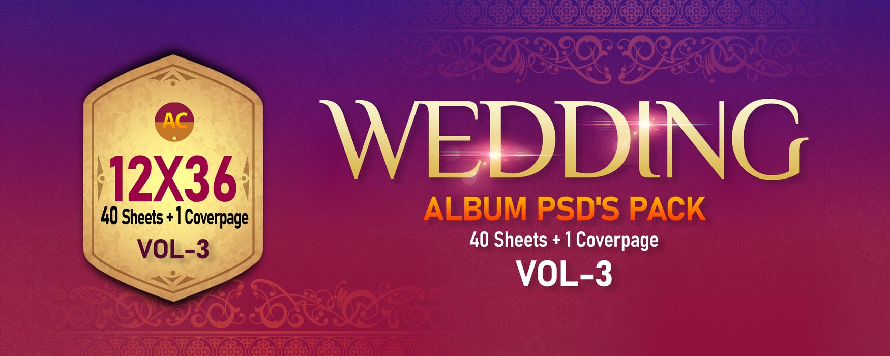 12×36 Wedding Pack Vol-3