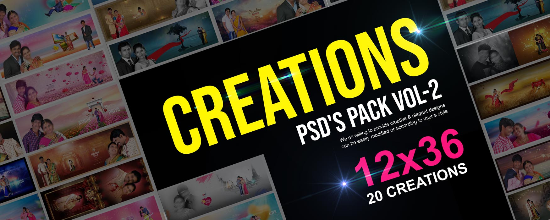 12×36 Creations Pack Vol-2