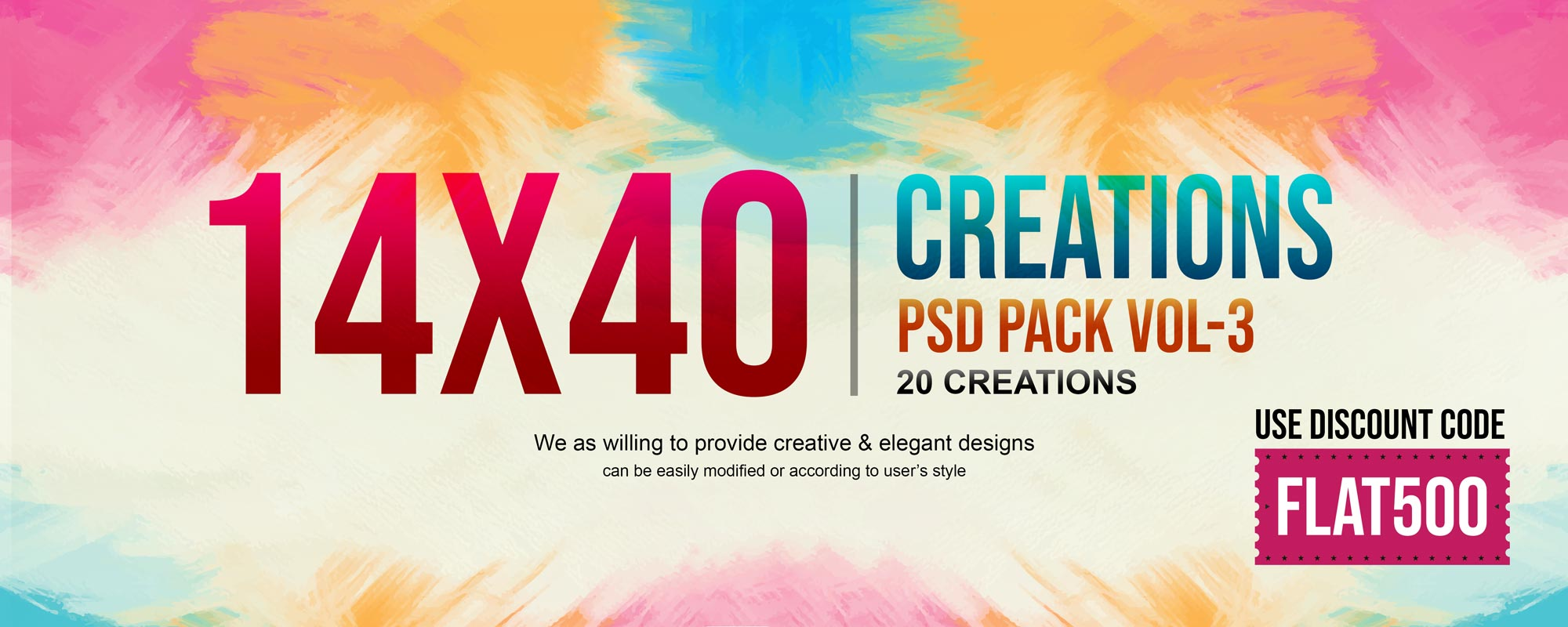 14×40 Creations Pack Vol-3