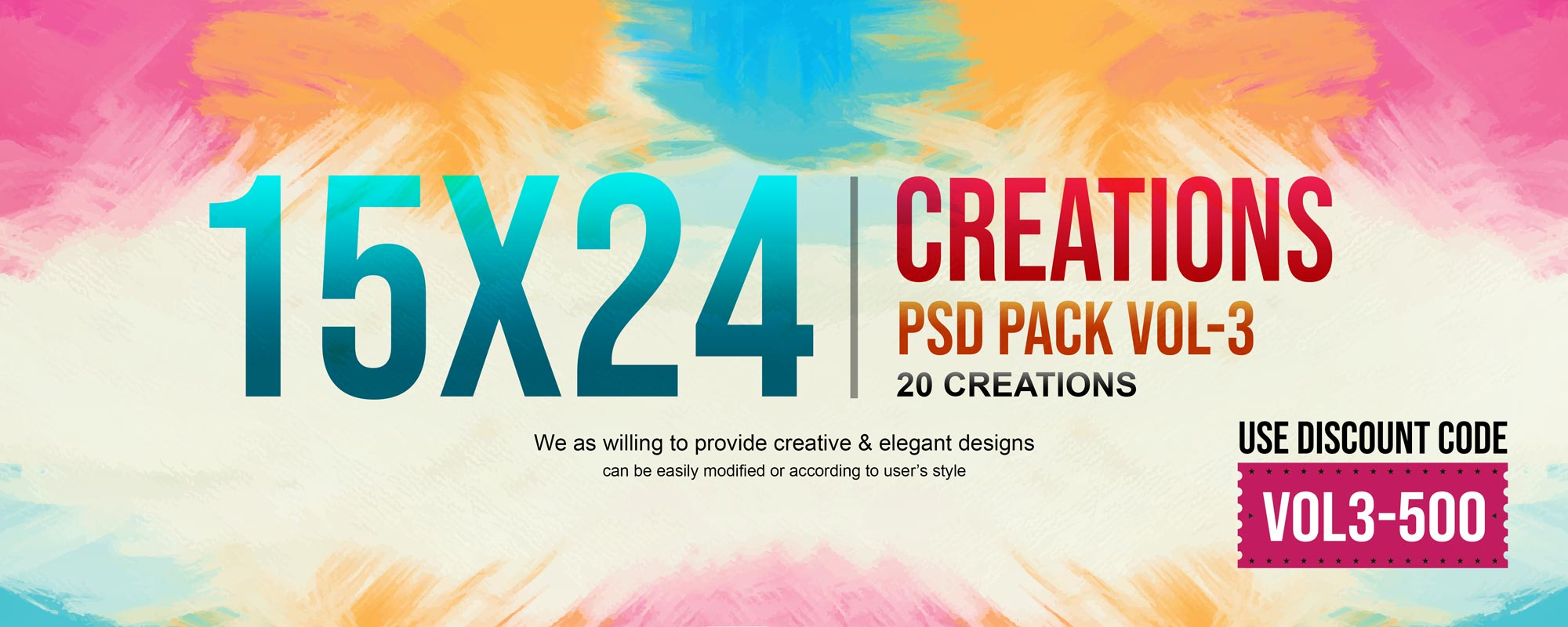 15×24 Creations Pack Vol-3