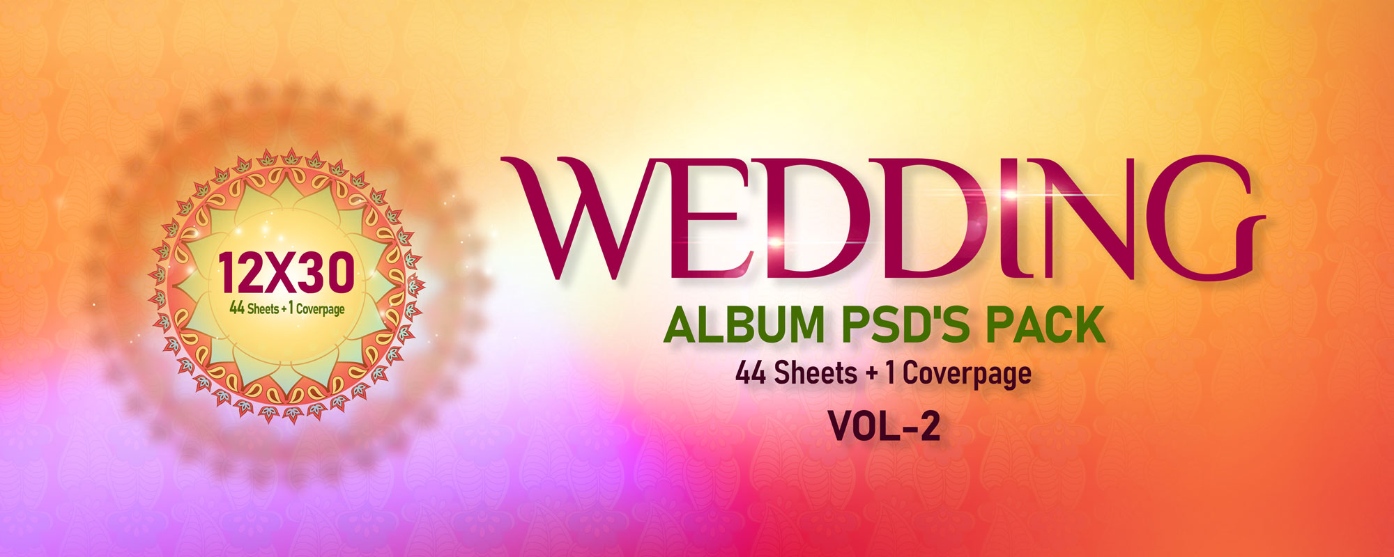 12×30 Wedding Pack Vol-2