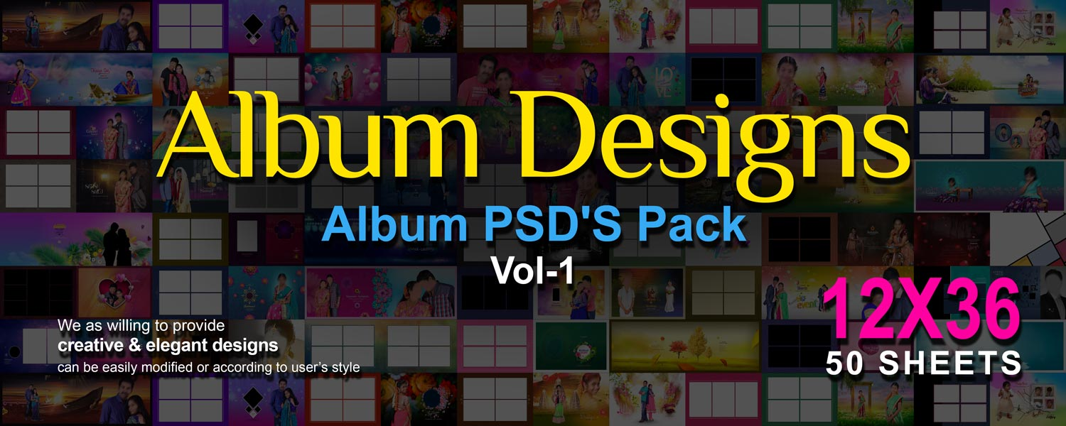 Album Designs Vol-1